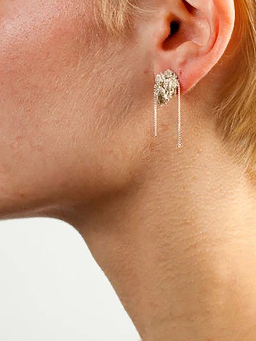 arielle de pinto bead earrings in haze
