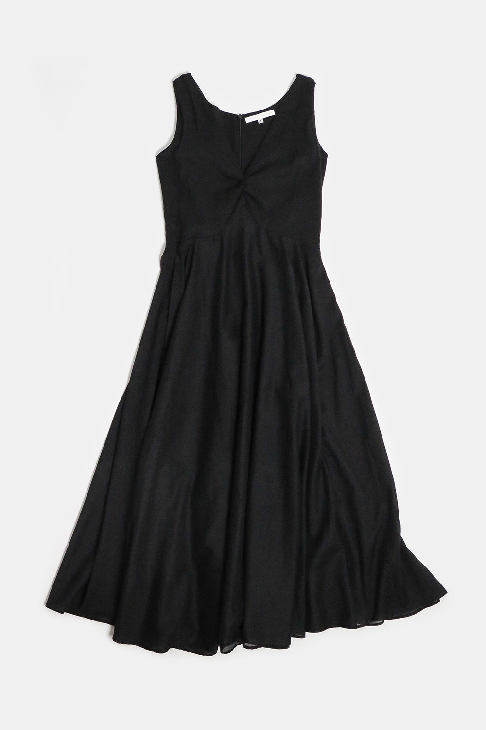 birch dress in black