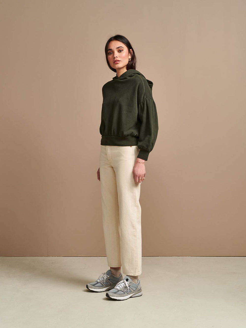 bellerose bloom sweatshirt in combo a