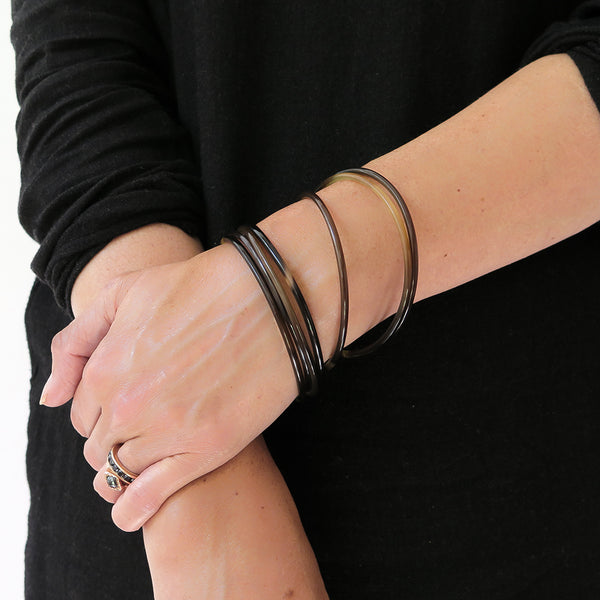 horn stacking bangle