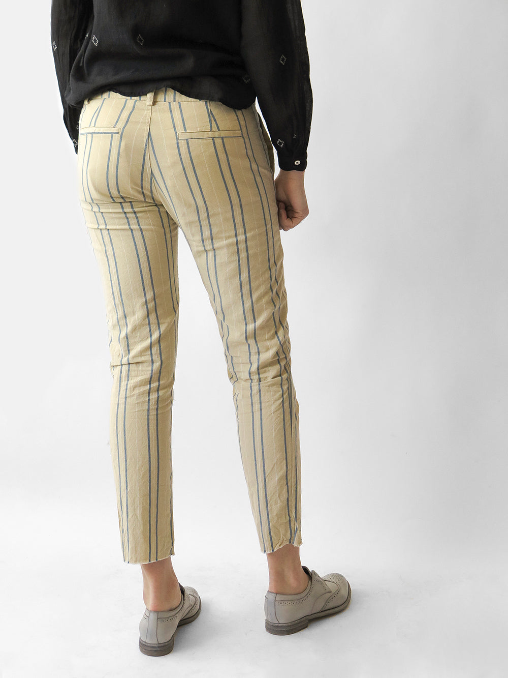 bsbee oxford pant in becca stripe