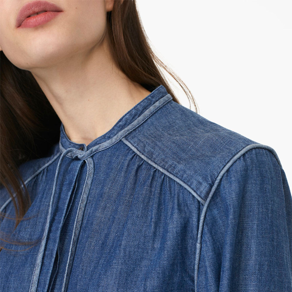 closed lou denim top