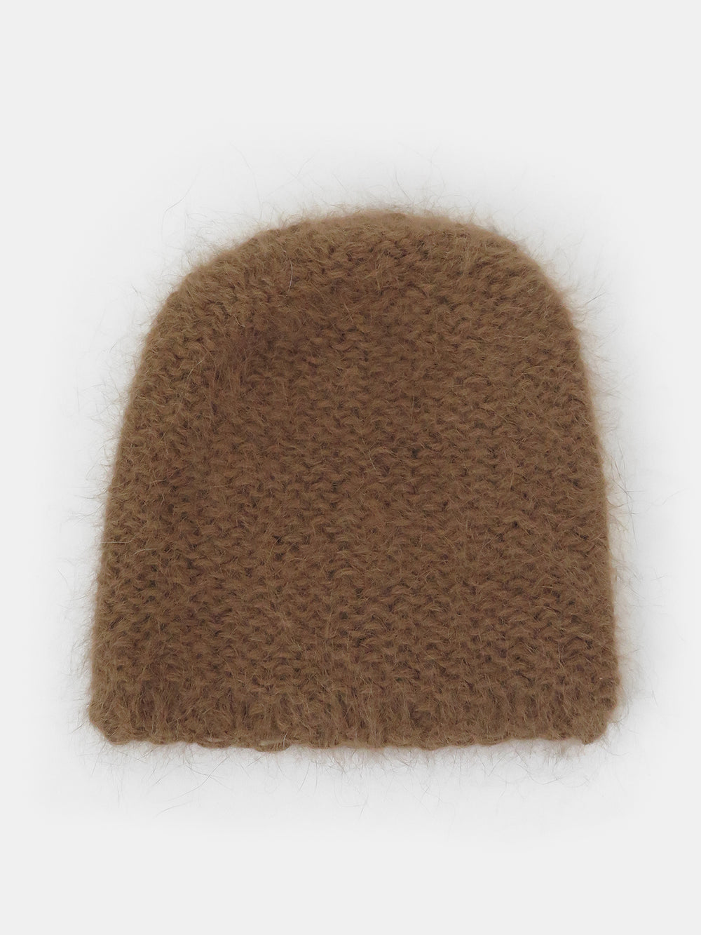 clyde mohair hat in lynx