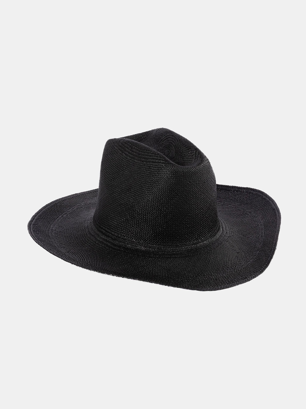 clyde cowboy hat in black