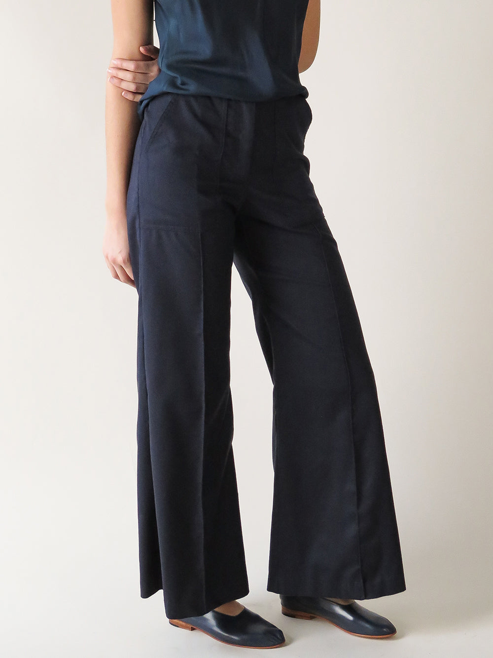 darby pant in navy