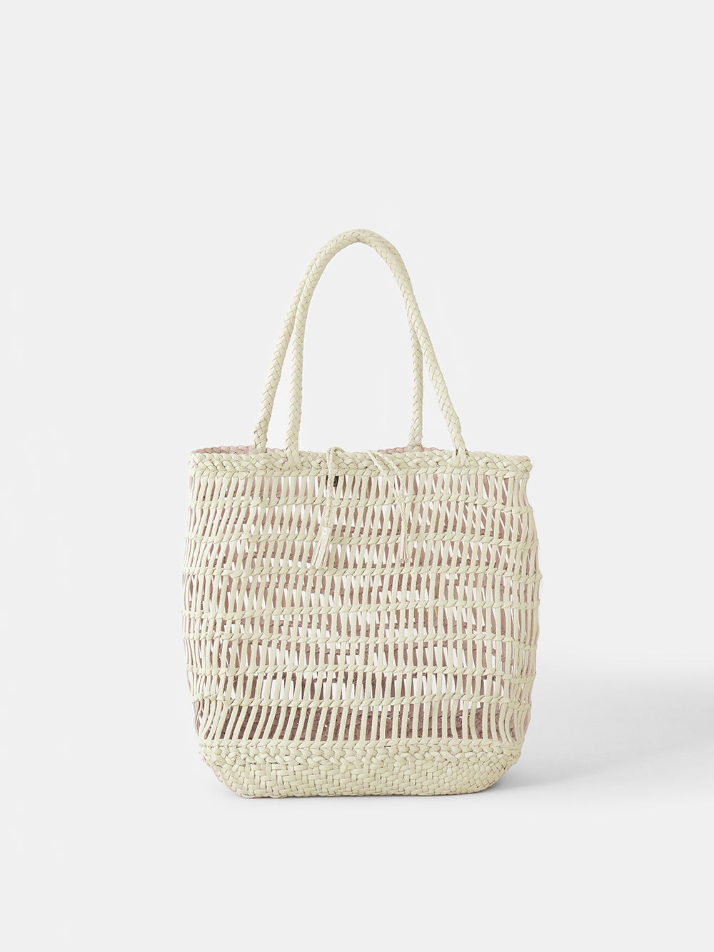 dragon diffusion dora tote in pearl