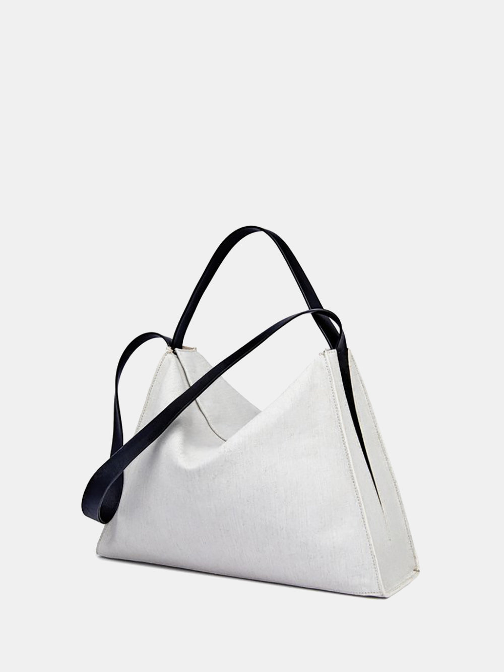 aesther ekme canvas duffle in white