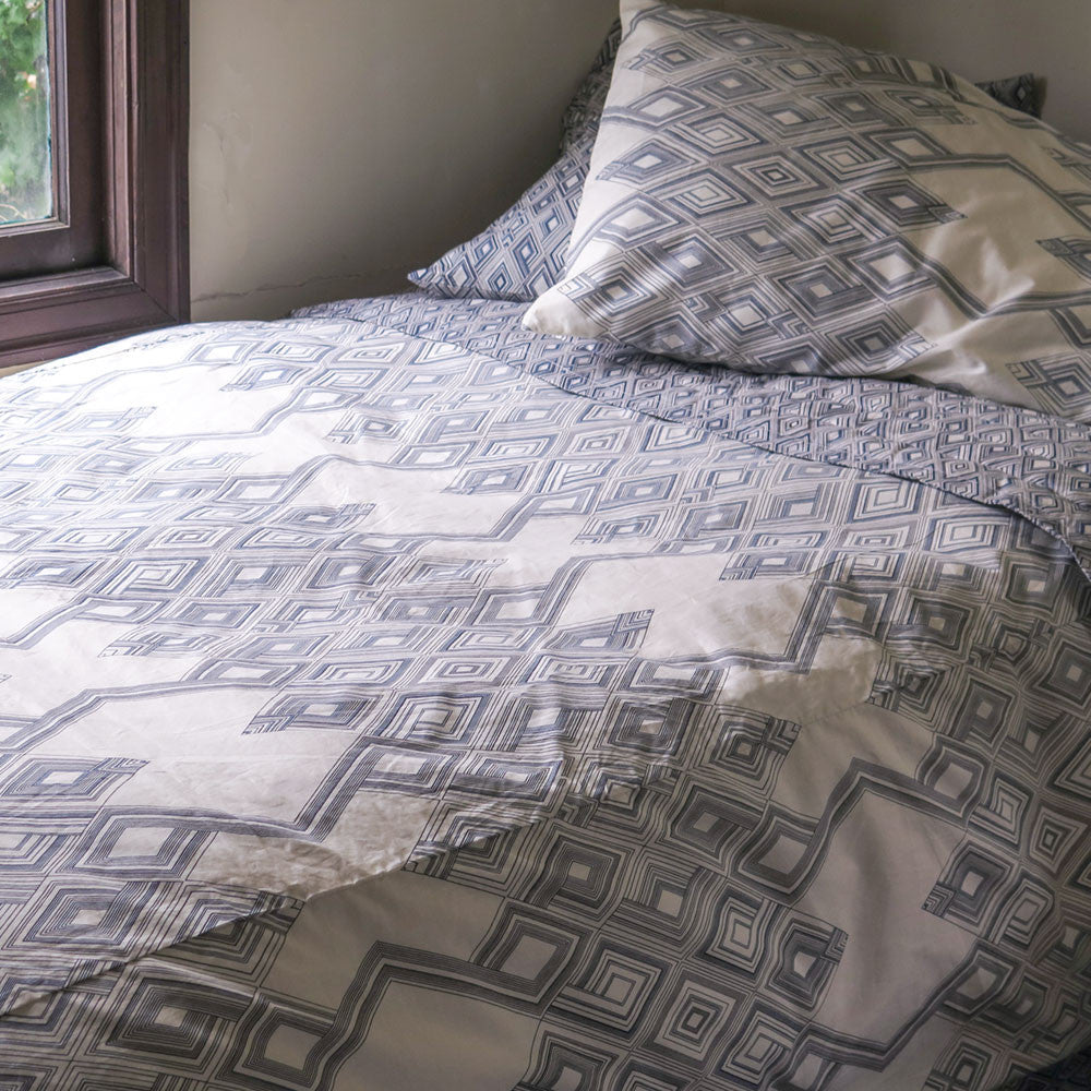 large diamond duvet cover