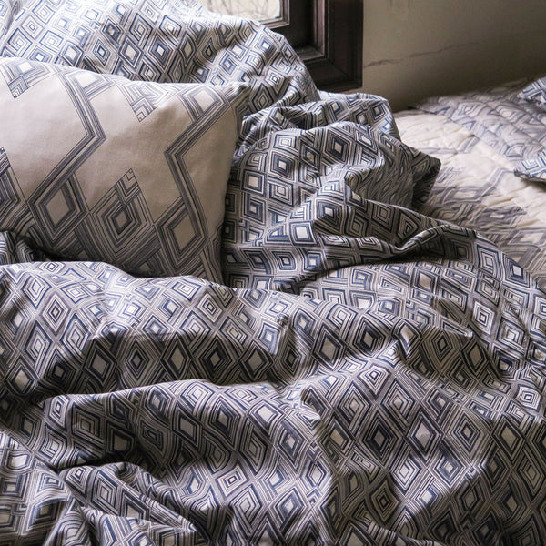 small diamond duvet cover