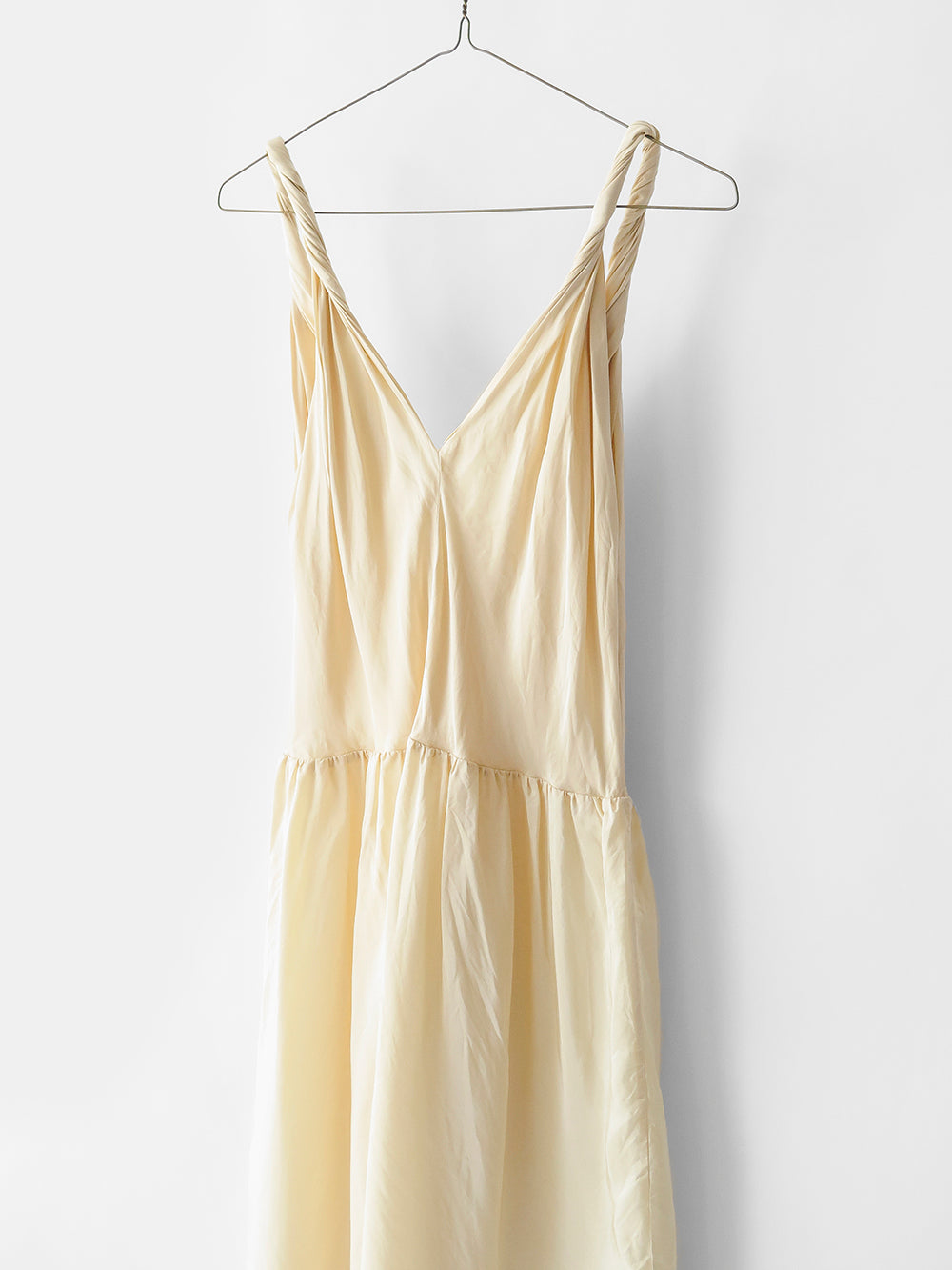 elsa esturgie ancre dress in beige