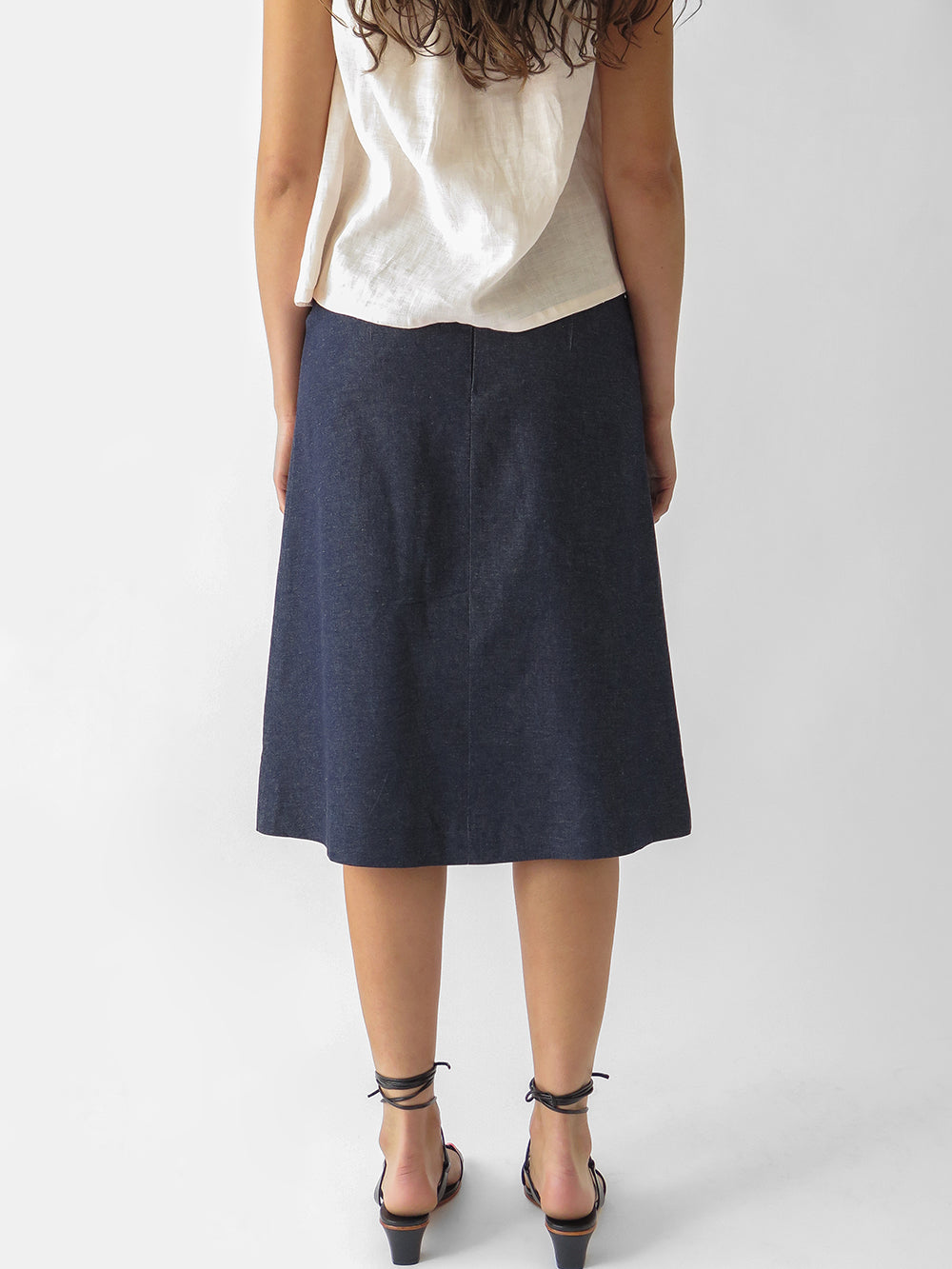 emile skirt in denim