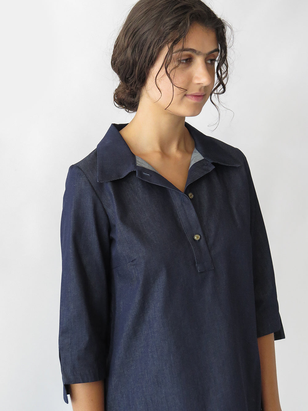 eve shirt in denim