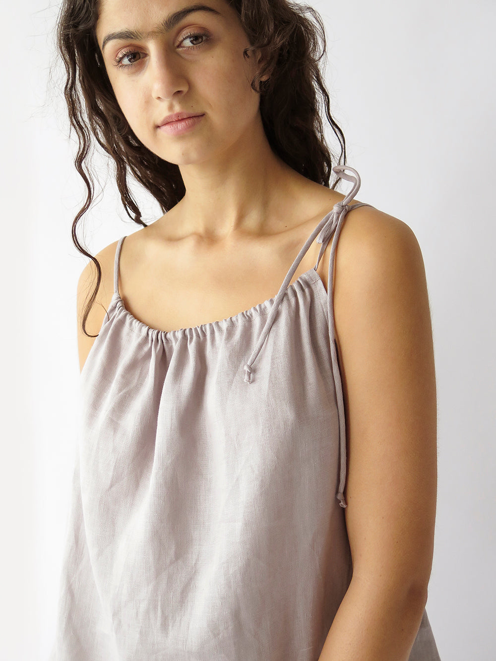 evie tank top in opal