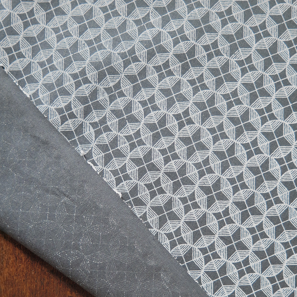 slate circle star cotton