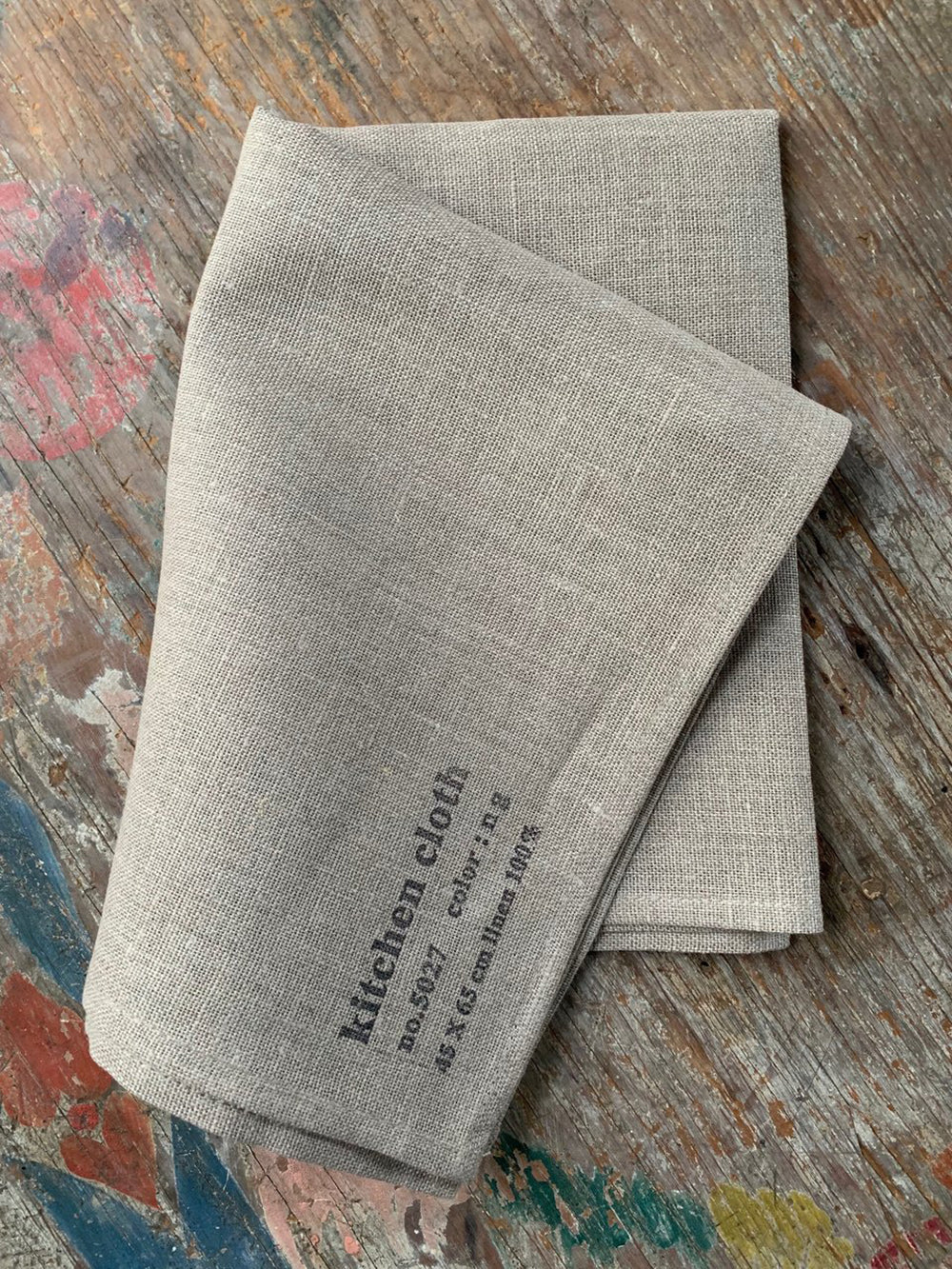 fog linen kitchen cloth in natural