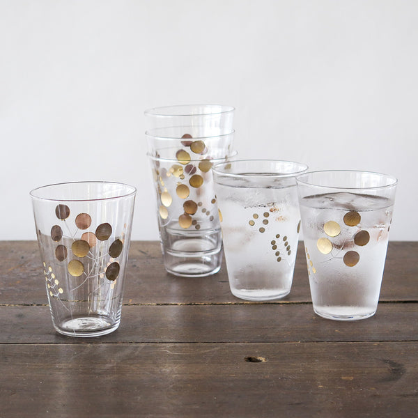 golden berry glasses