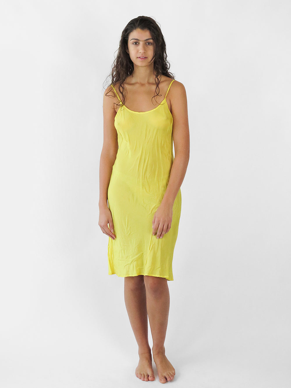 greta slip in sunflower