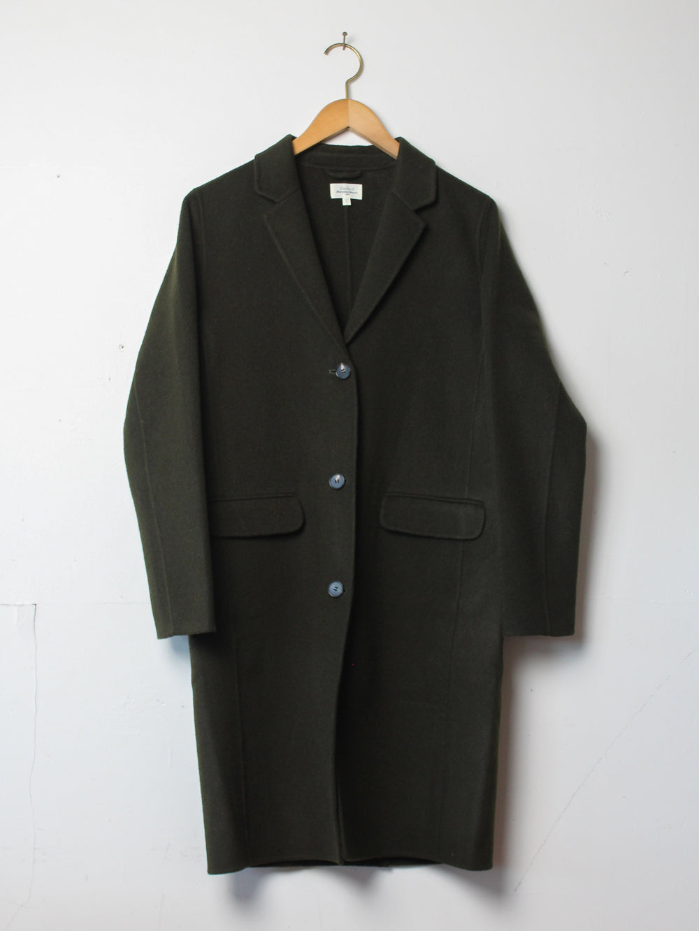 hartford voilas coat in army