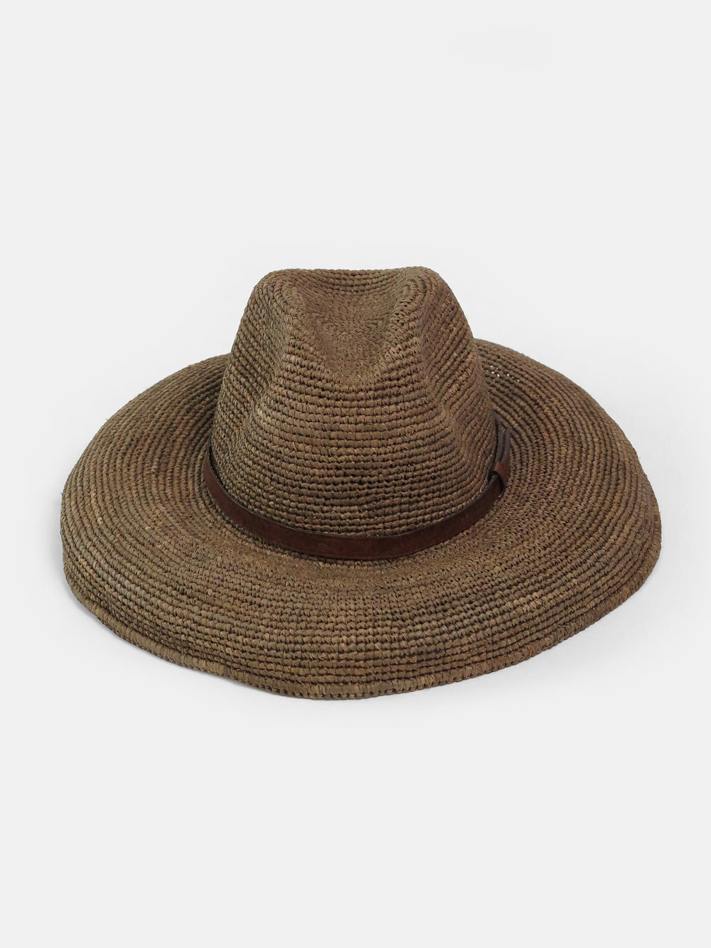 ibeliv safari hat in dark tea