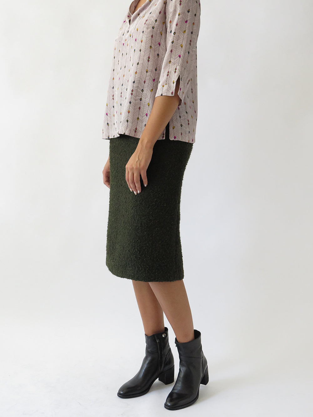 jade skirt in army