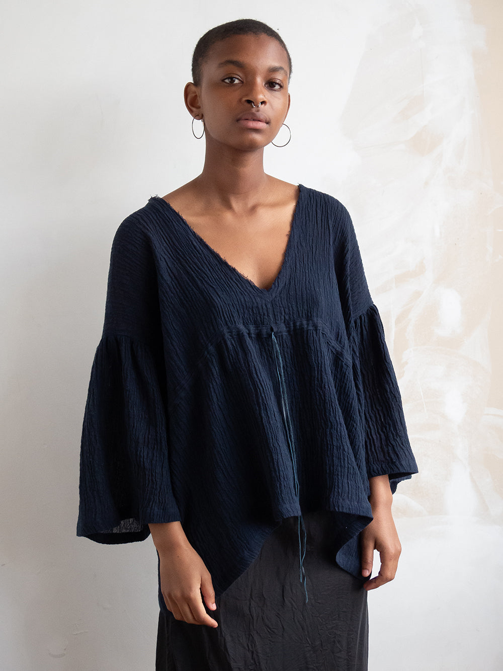 janice top in navy