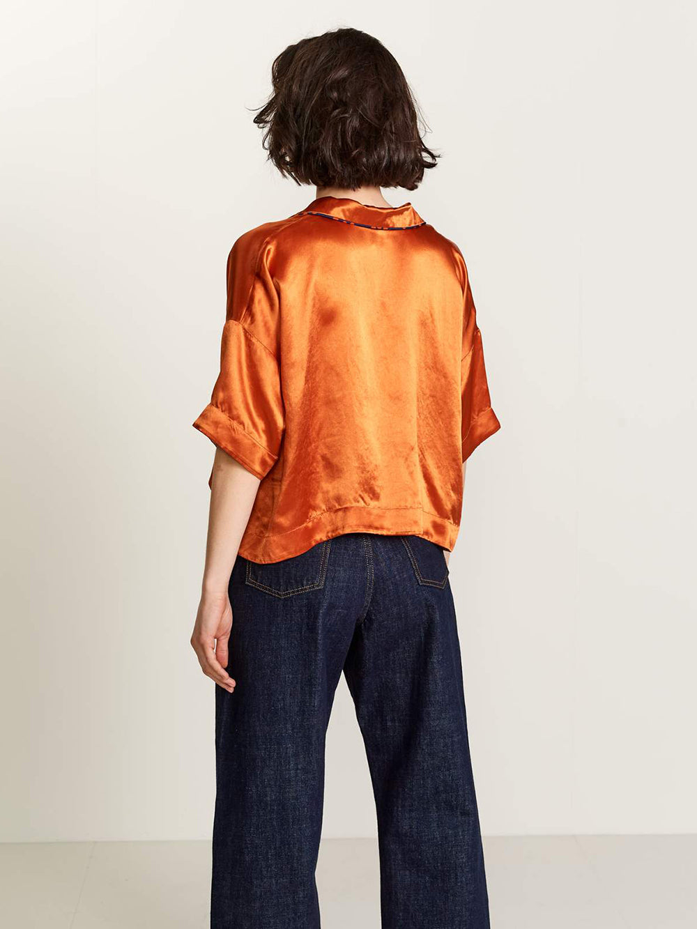 bellerose la-bas blouse in rusty