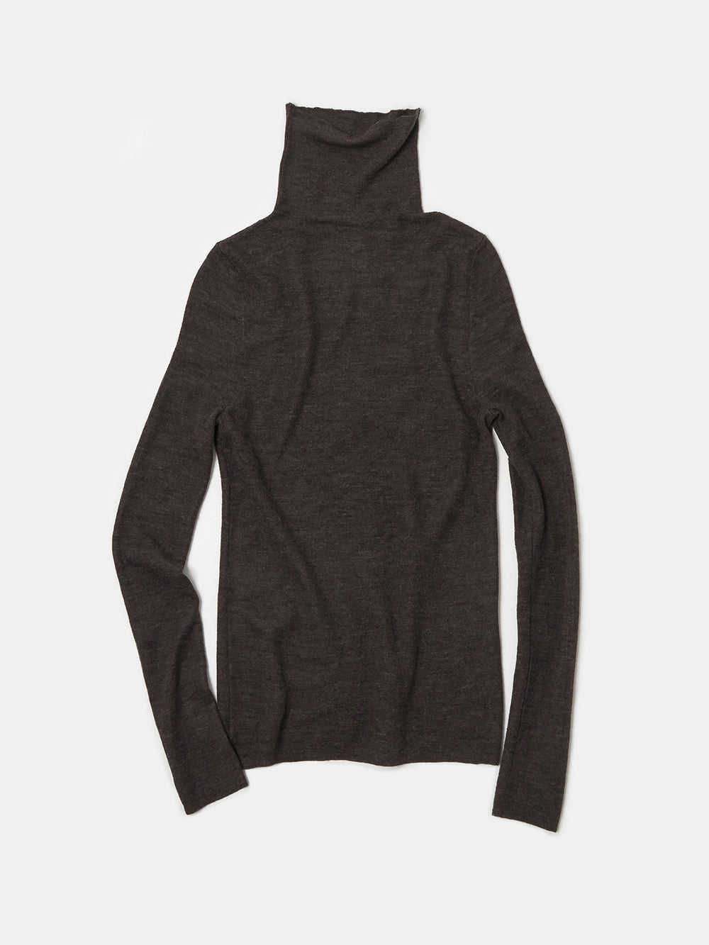 lauren manoogian rib turtleneck in raku