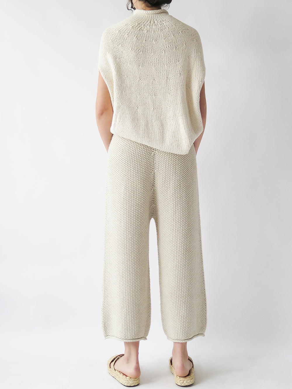 lauren manoogian seed pant in natural