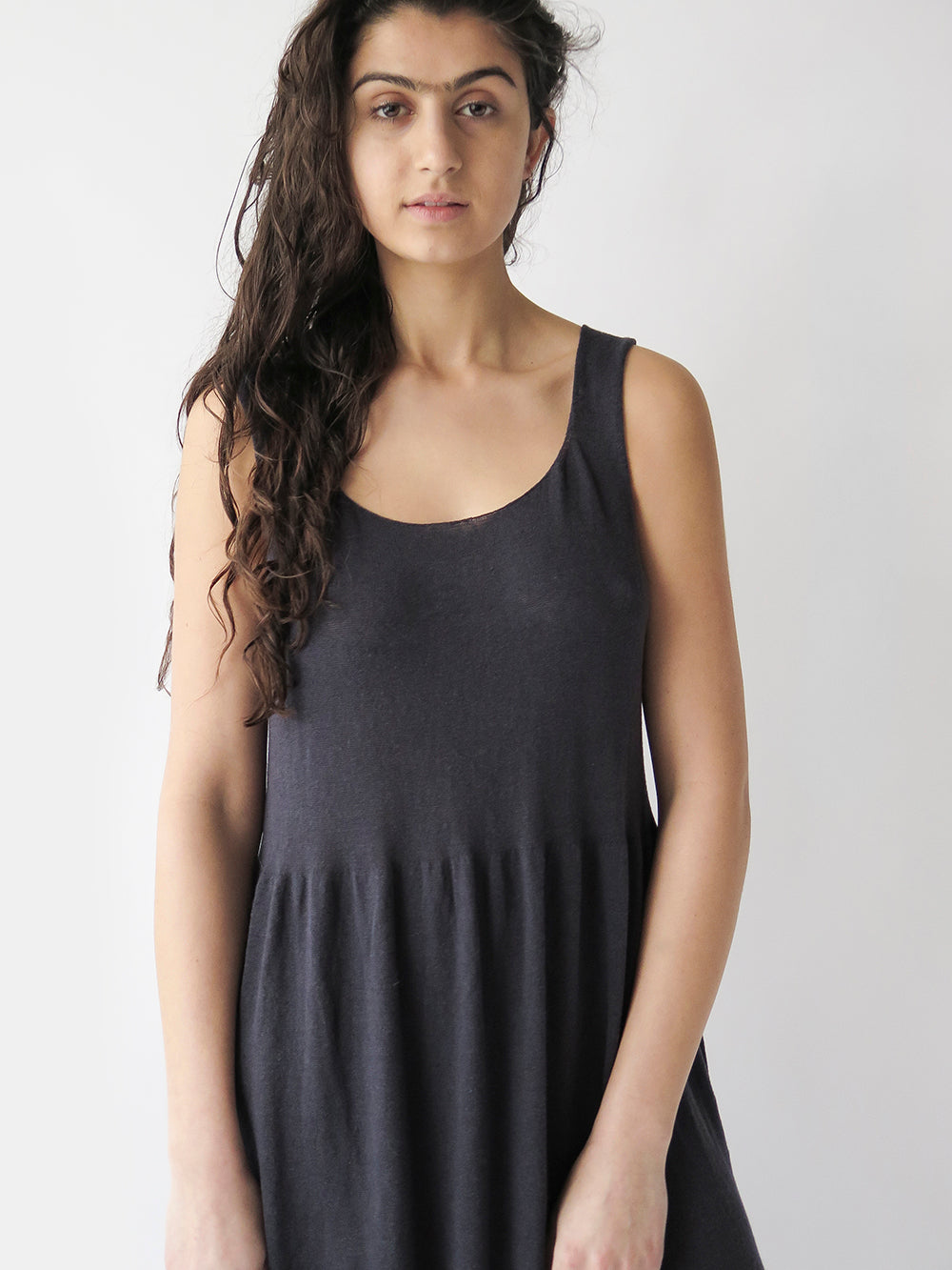 lauren manoogian tier dress in ink