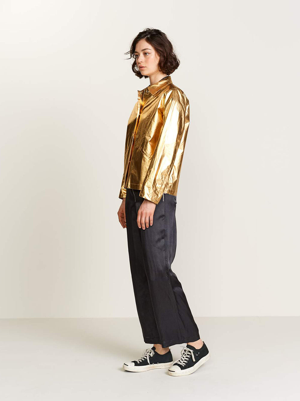 bellerose leeb jacket in gold