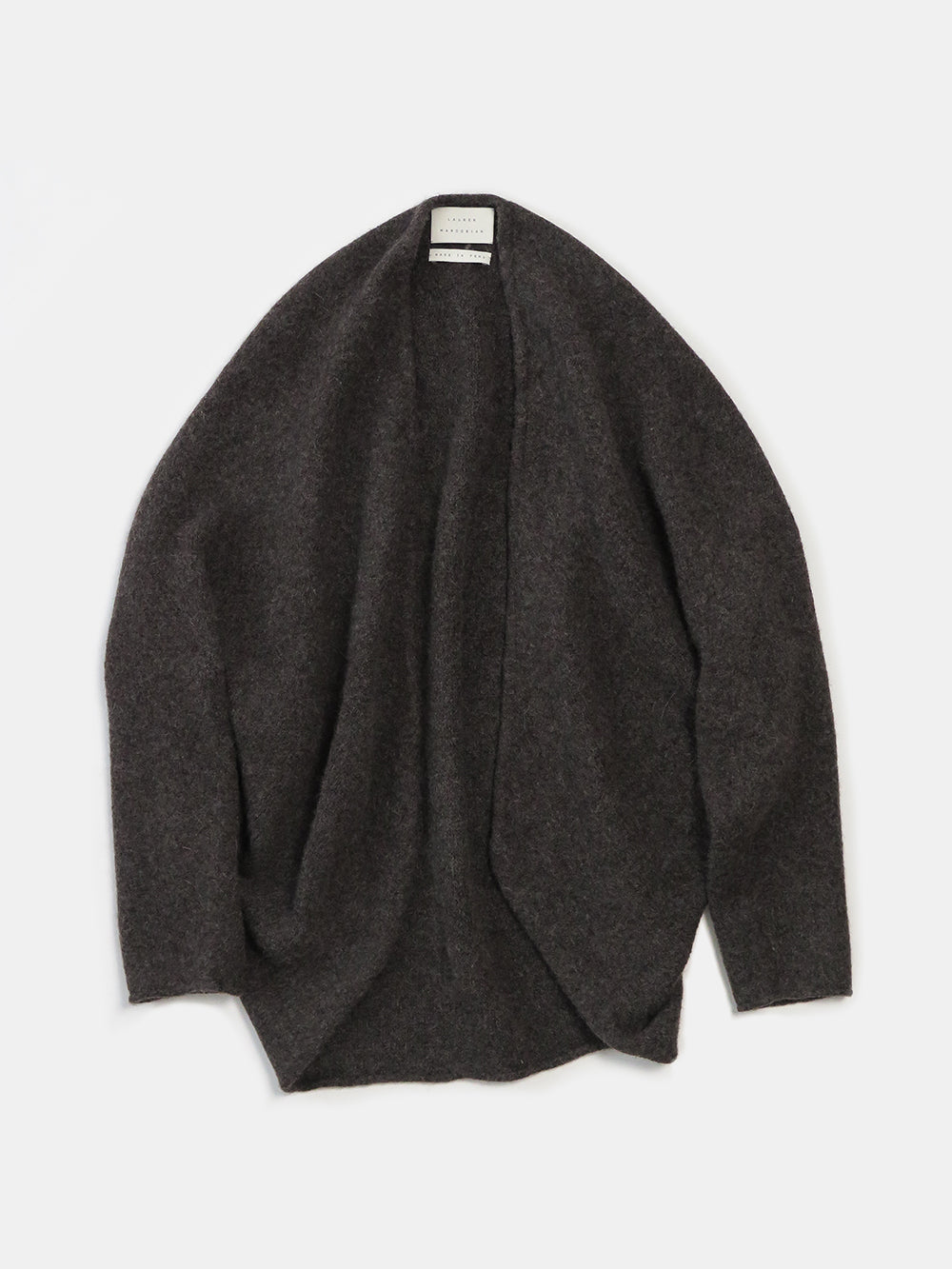 lauren manoogian horizontal cardigan in patina
