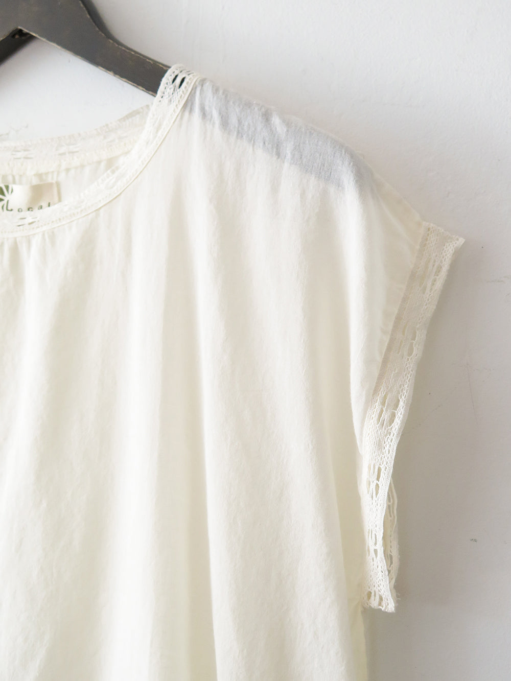 local judith blouse in white