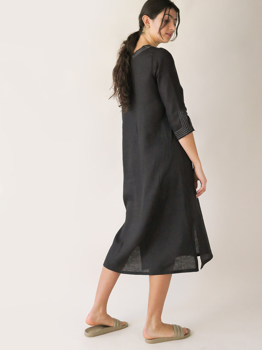maeve dress in black