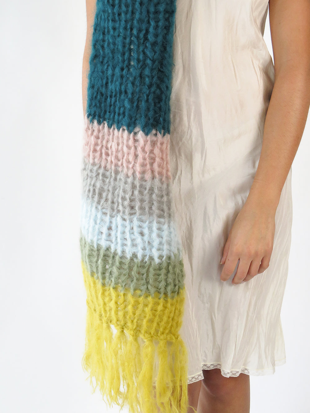 maiami basic scarf in green