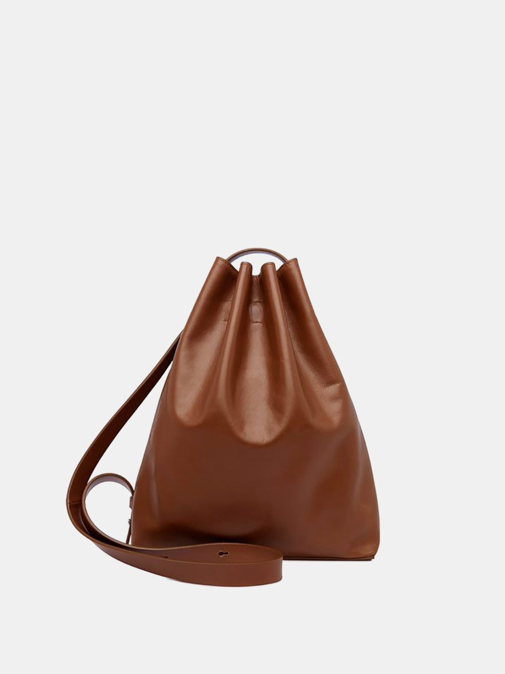 aesther ekme marin bag in cognac