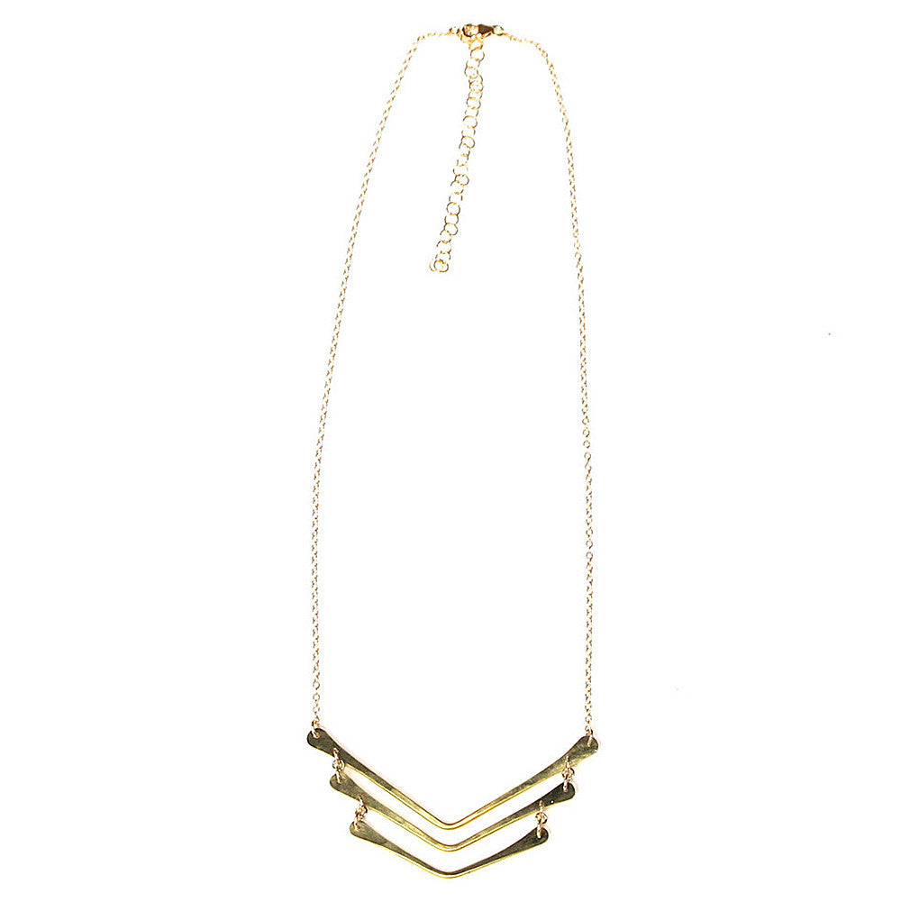 marisa mason sonora triple necklace