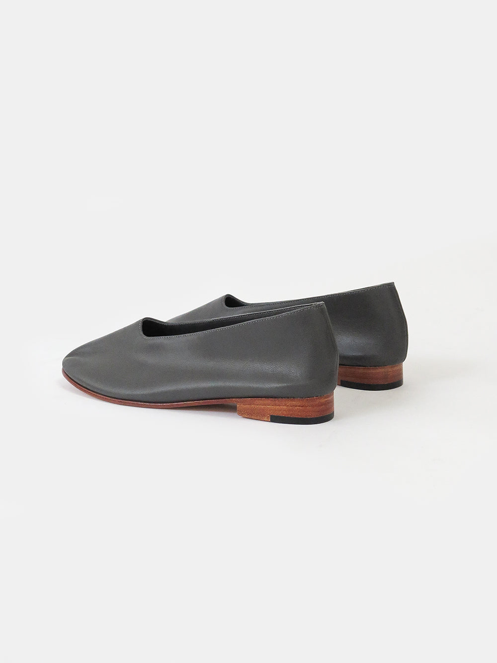 martiniano glove shoe in dark grey