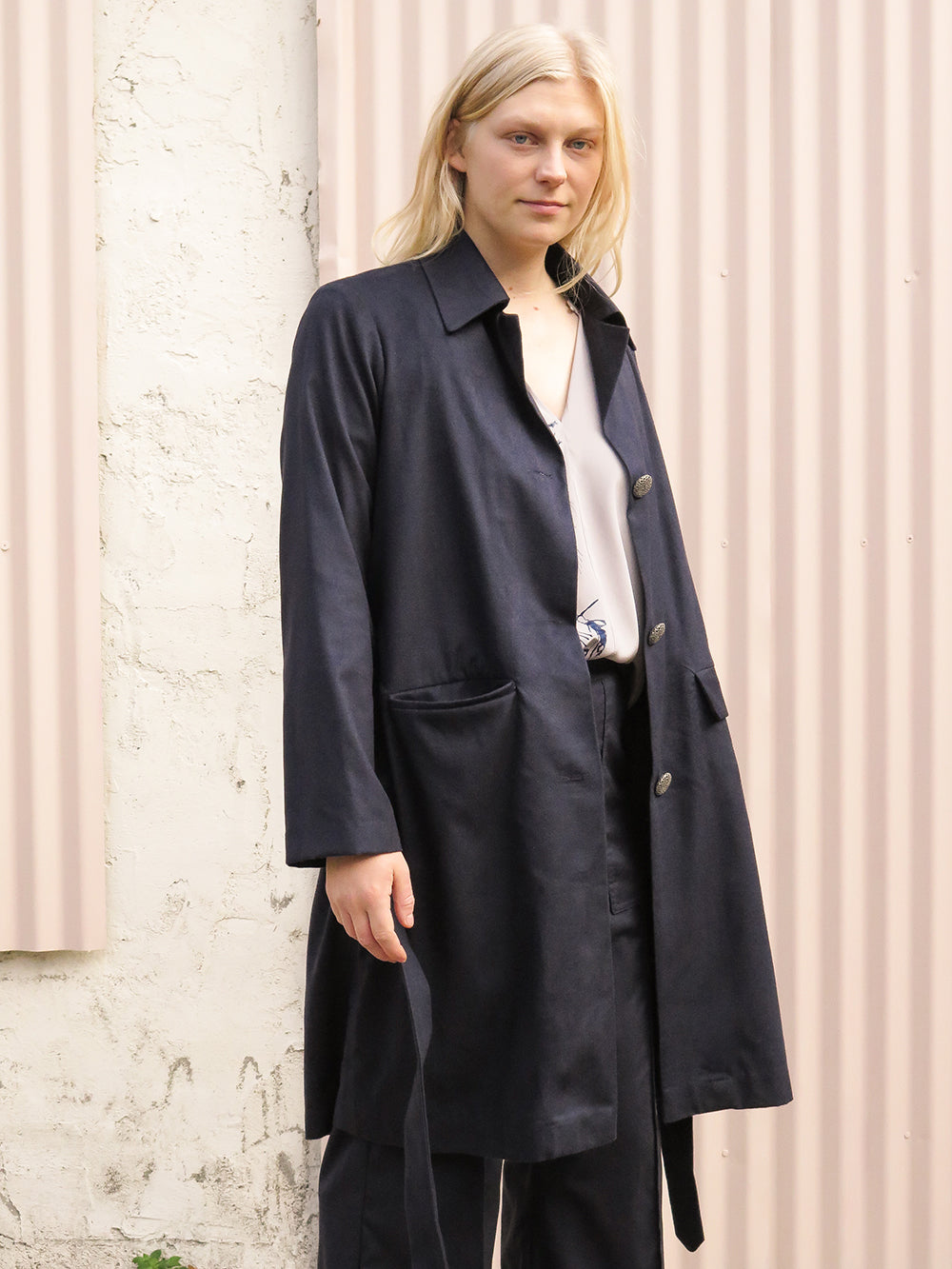 mateo jacket in navy