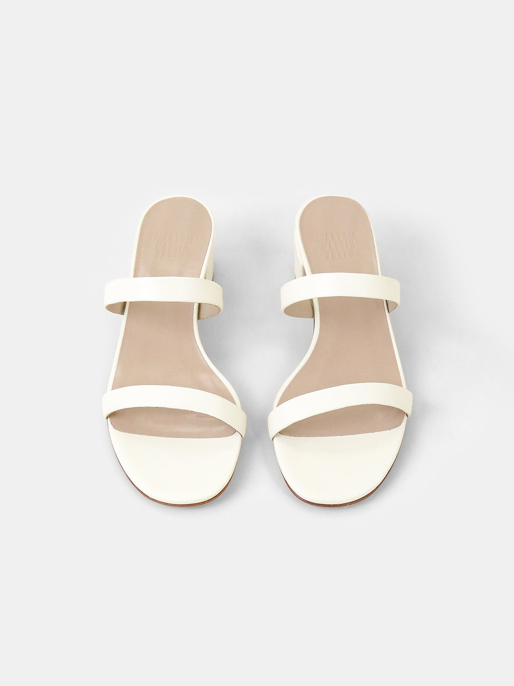 maryam nassir zadeh frida slide in cream
