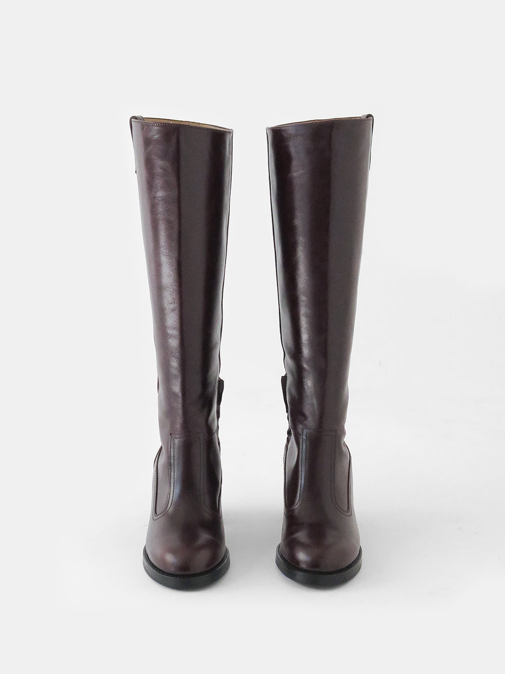 maryam nassir zadeh norfolk boot in mahogany