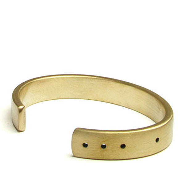 marmol radziner thin light bronze cuff