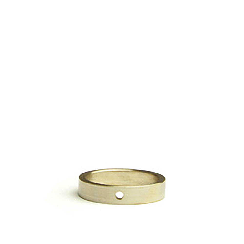 marmol radziner thin natural bronze ring