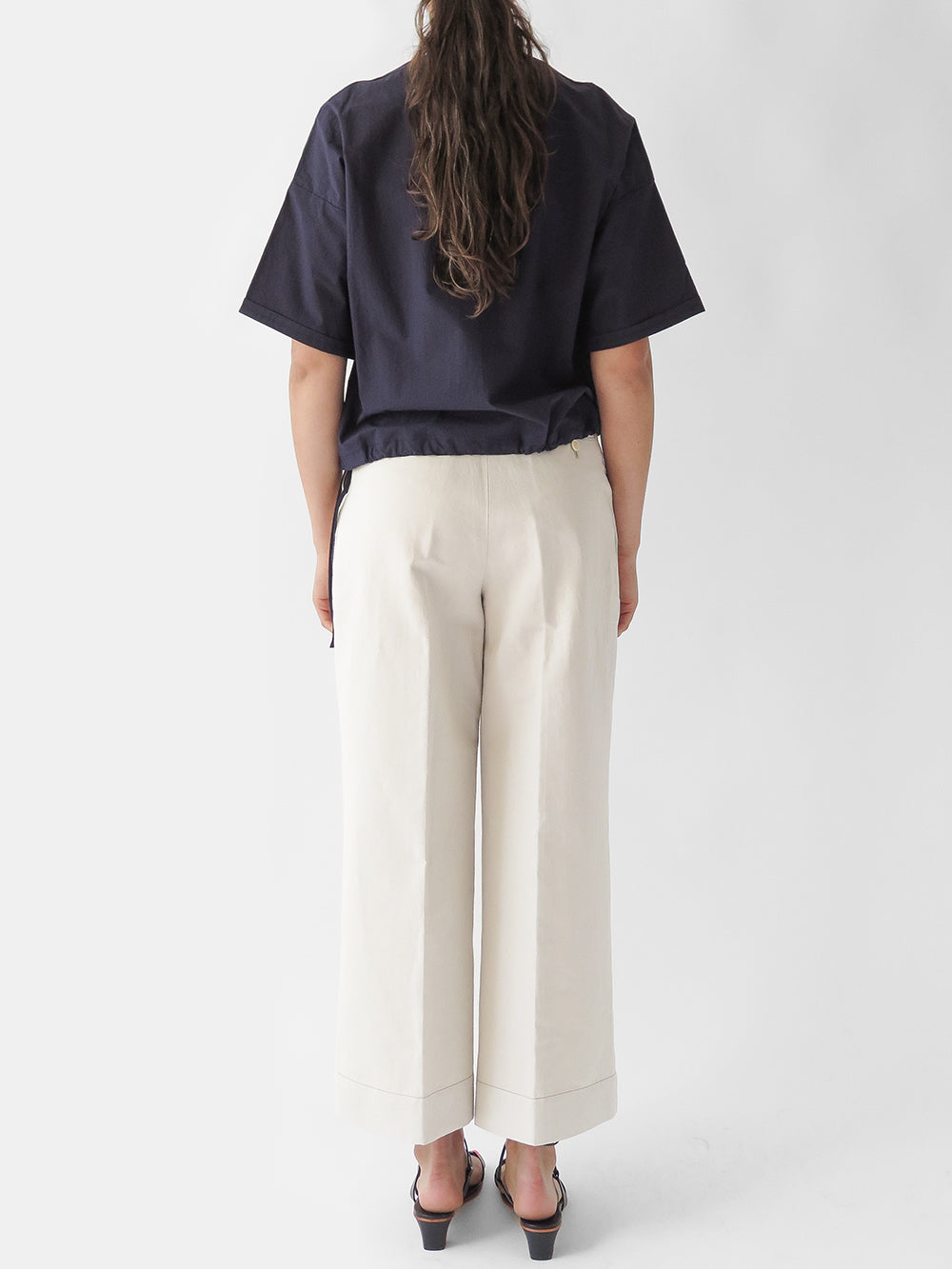 nico mayur pant in off white