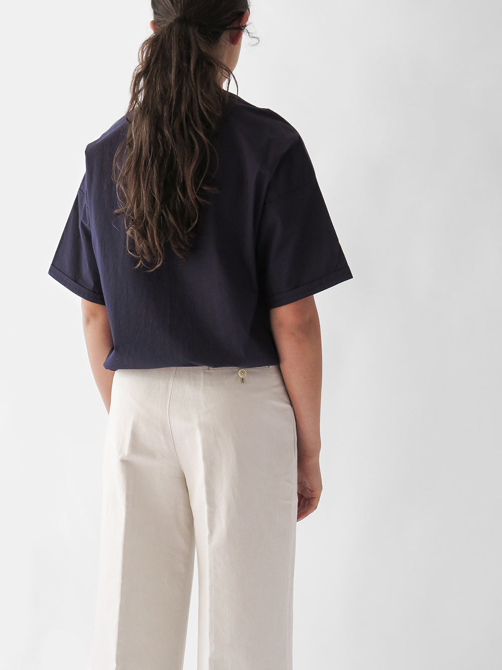 nico slow shirt in navy