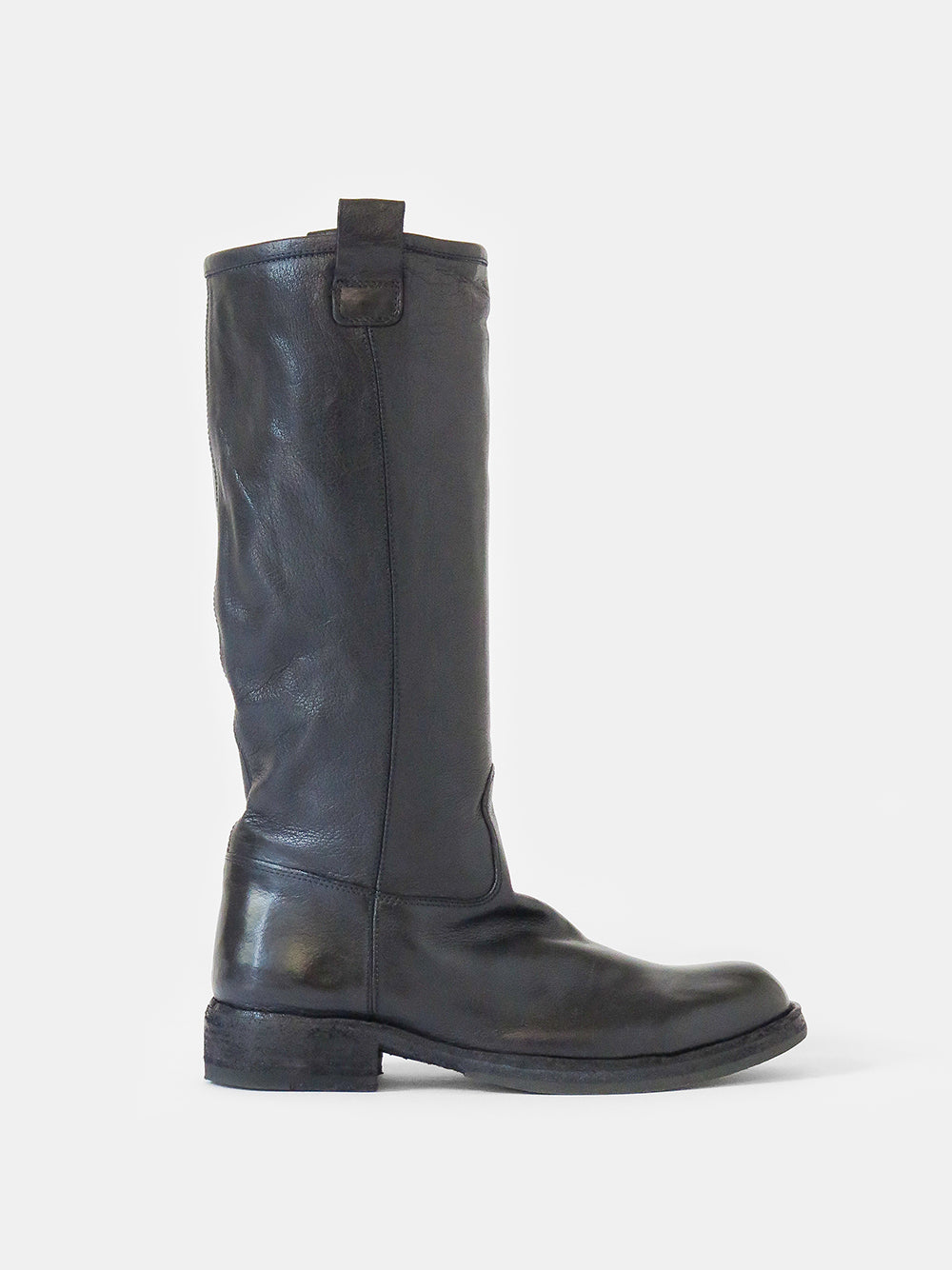 officine creative legrand tall boot in navy seal
