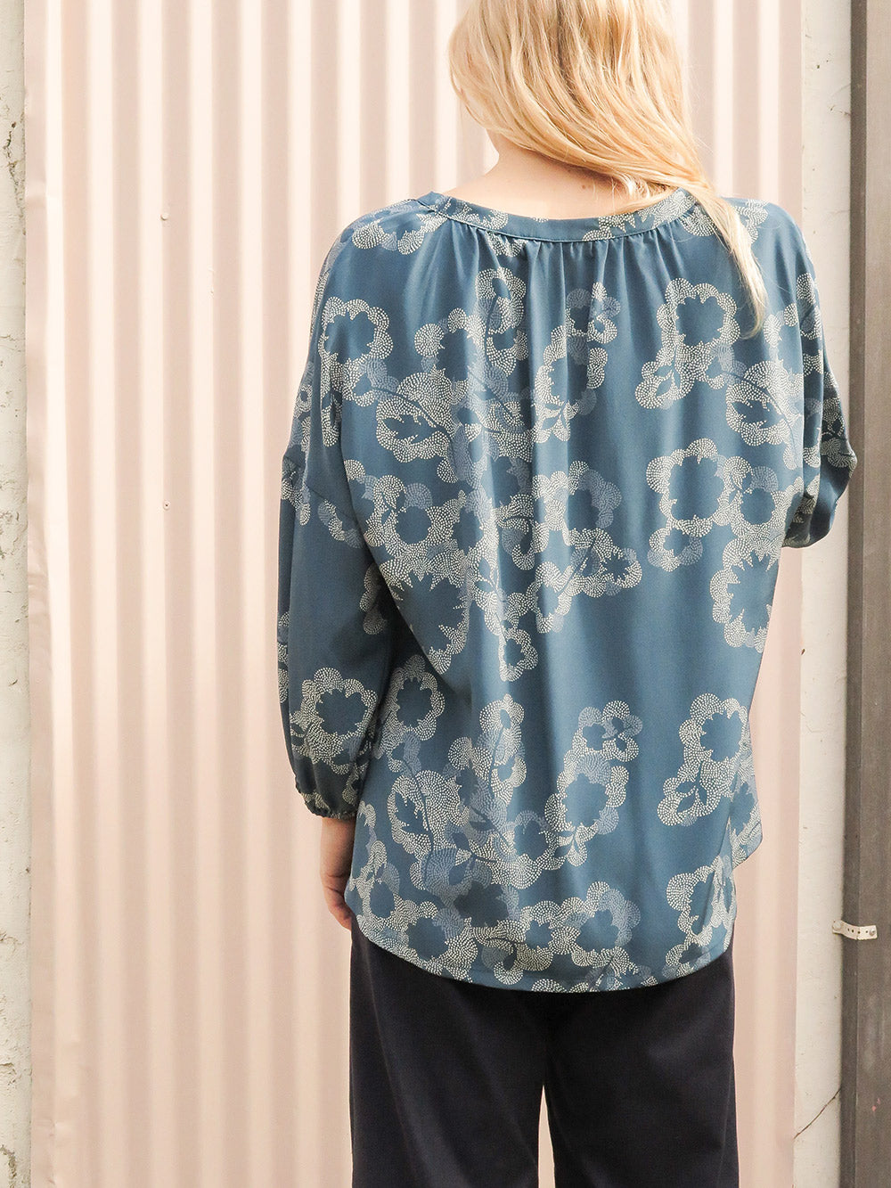 patricia blouse in salema