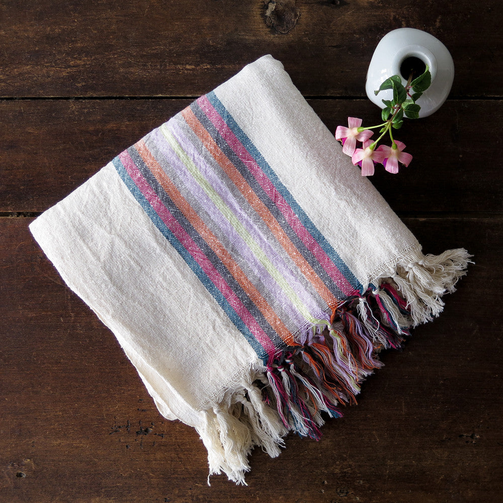 begonya turkish cotton + linen towel