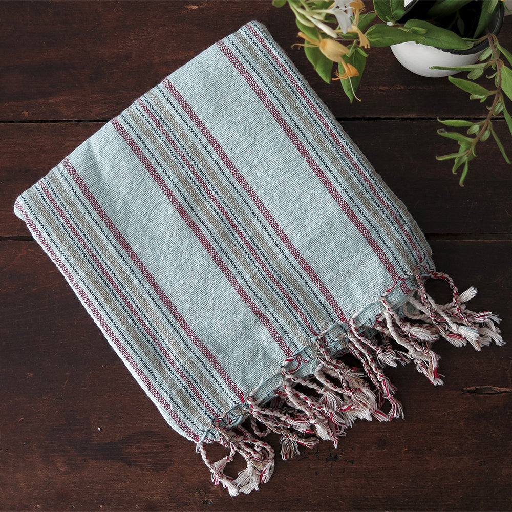 aqua papirus turkish cotton towel