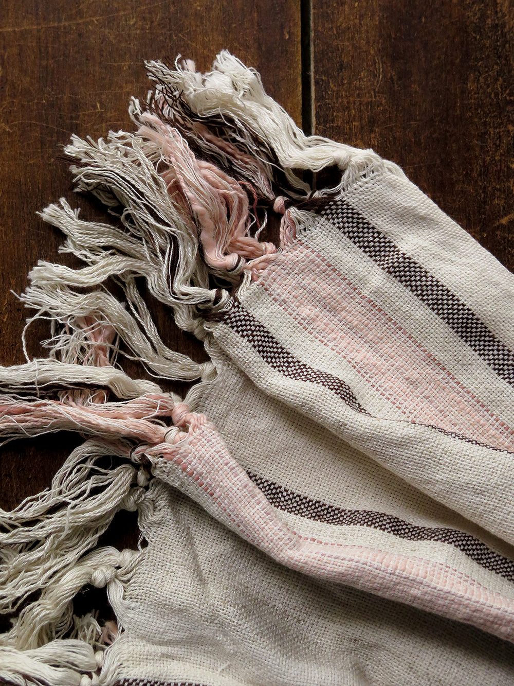 rustic turkish cotton towel