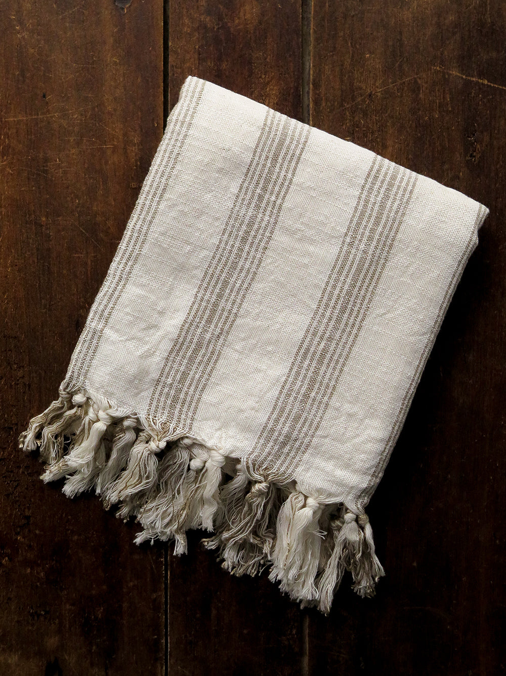 zirve golden stripe turkish cotton towel